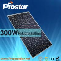 China Prostar poly 300 watt solar panels for solar water heater on sale
