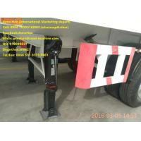 Double Function Container Semi Trailer Trucks 3 Fuwa Axles With Removable Wall Manufactures