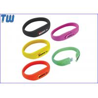 Buy cheap Fashion Silicon Bracelet 16GB Thumb Drive Flash Disk Digital Storage from wholesalers