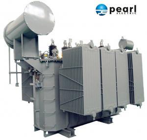 China 110kV - 6300 KVA Power Distribution Transformer Safety High Voltage Power Transformer on sale