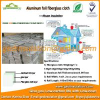 Aluminum foil fiberglass cloth for STP insulation board as construction material Manufactures