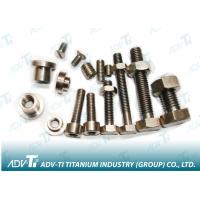 China GR2 GR5 Titanium Fastener bolts and nuts washer on sale