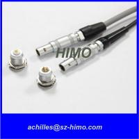Buy cheap wholesale M7 Metal Gold Plated 0.7mm Pin lemo Coaxial Connector from wholesalers
