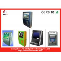 China 17 Ticketing Kiosk Stand With Water Proof Keyboard And Ticket Printer on sale