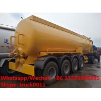 Buy cheap 2018s high quality and competitive price customized CLW brand 4 axles 30,000Liters vacuum tank semitrailer for sale, from wholesalers