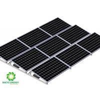 China Flexible Ballasted Ballast Solar System Solar Mounting Bracket With Wind Deflector wholesale