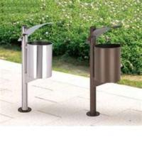Specialyl design Durable fastness Garden galvanized steel dustbins for public places Manufactures