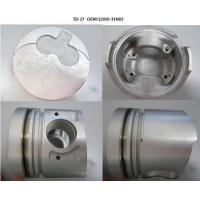 Aluminium 12010-31N03 Nissan Piston TD27-T With Alfin And Oil Galery Manufactures