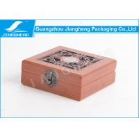 Glossy Surface Window Decorative Wooden Boxes , Customized Gift Wooden Boxes Manufactures
