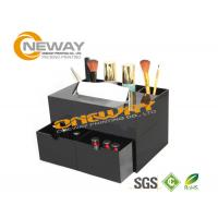 Black Acrylic Cosmetic Counter Display Laser Cutting OEM & ODM Manufactures