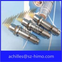 China ip50 circular 5pin lemo replacement connector wit pcb contact pin wholesale