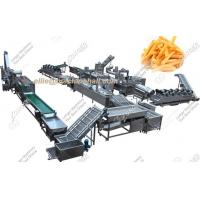 Fully Automatic French Fries Production Line|French Fries Making Machine For Sale Manufactures