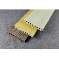 Beige Colorable Composite Wood Decking High Fire - resistance Manufactures