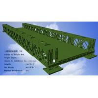 Buy cheap Corrosion Resistance Modular Steel Bridges TS Triple Single Type Bailey Bridge from wholesalers