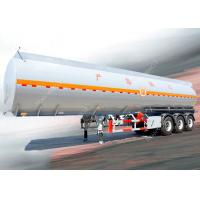 3 Axles 45000 liters 5 compartments diesel fuel tank trailer for oil transportation Manufactures