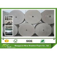 China Paper in Reel 600 - 1400 gsm Grey Paper Roll Thickness Gray Board Paper on sale