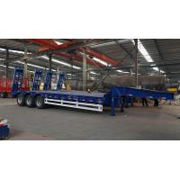 Titan 3-axle low-bed semi-trailer 80T Manufactures