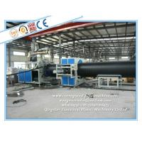 Plastic Winding Pipe Production Line , HDPE Winding Pipe Making Machine Manufactures