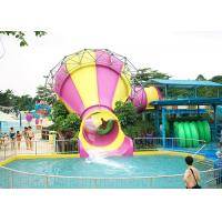 China Anti - Static Tornado Water Slide Oxidation Resistant Stainless Steel Structure on sale