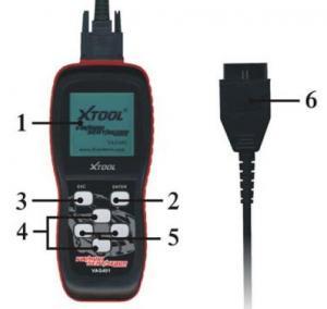China Professional OBD2 Scanner Codes XTOOL VAG401 VW / AUDI / SEAT / SKODA on sale
