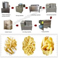 Small Scale Frozen French Fries Production Line Manufactures