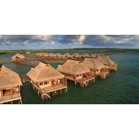 Yellow Overwater Bungalow  Manufactures