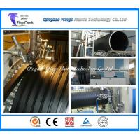 China 3000mm HDPE Hollow Wall Winding Profile Pipe Production Line Factory wholesale