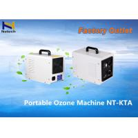 White Home 3000 Mg/Hr Household Ozone Generator For Fruit Vegetable Purifier Manufactures
