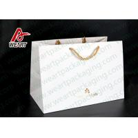 Hot Foil Stamping Christmas Gift Custom Printed Paper Bags Eco Friendly Feature Manufactures