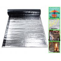 China Self Adhesive Bituminous Membrane with Aluminium Foil, +80℃ to -25℃, for ten years on sale