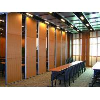China Movable Acoustic Wooden Screen Room Dividers / Conference Room Partitions wholesale