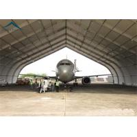 High Strength Rustproof Air Plane Hanger With Steel Space Truss Structure