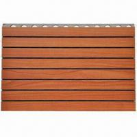 China Wood Panel for Walls, with 12/15/18mm Standard Thickness, Measuring 2,440 x 128 and 2,440 x 197mm on sale