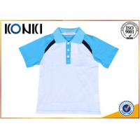 China Custom Pure Cotton School Uniform Polo Shirts With Elegant Design on sale