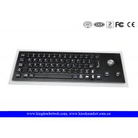 Compact USB Industrial Computer Keyboard with Optical Trackball and Korean Layout Manufactures