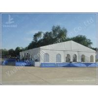 Aluminum Frame Show Event Marquee Tent Rental With Transparent PVC Windows / Glass Door Manufactures