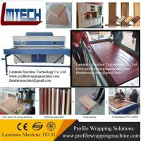 PVC decorative room panels vacuum membrane press machine with CE Manufactures