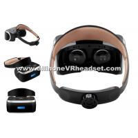 Black Portable All In One VR Headset , 1GB DDR Virtual Video Game Glasses Manufactures