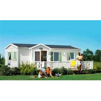 China Prefab Mobile Homes With Laminate Floor / Colorbond Roofing / PVC Wall Cladding wholesale