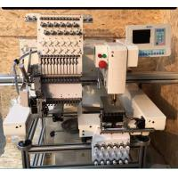 China Custom Electronic Home Embroidery Machines , One Head Embroidery Machine wholesale