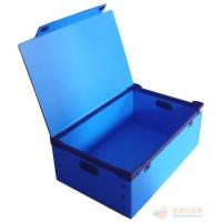 China Recyclable Reusable Moving Storage Corrugated Plastic Boxes correx box White / blue on sale