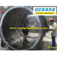 Precast concrete culvert pipe making machine of Roller suspension type