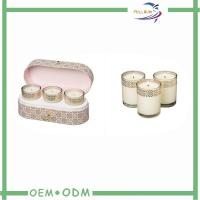 Elegant Candle Box Packaging Oval Kraft Cardboard Candle Storage Packaging Boxes Manufactures