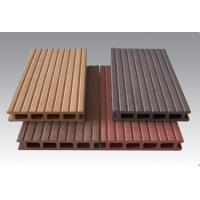 Wood Plastic Composite Outside Round And Square Circular Hollow Wpc Decks Manufactures