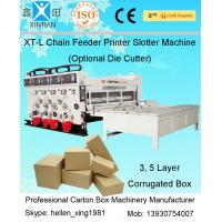 High Speed Packaging Paper Carton Making Machine Of Cardboard , PLC Control Manufactures
