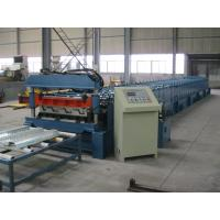 Quality Mitsubishi PLC Metal Cold Roll Forming Equipment For Deck , Roll Forming Line for sale