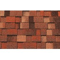 China Waterproof Laminated Asphalt Shingles for building roofing decoration on sale