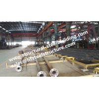 Monopole Towers And Lattice Towers Steel Pole For Wind Power Plant Production Line Manufactures