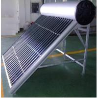 China non-pressurized solar thermal water heater on sale