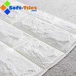 3D Brick Thicken Soft PE Foam Wall Sticker Panels Wallpaper Decor Stone Marble colour Manufactures